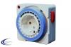 Mechanische Steckdosen Zeitschaltuhr mit Tagesprogramm Schuko 16A IP20