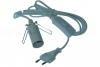 Lampenfassung E14 mit 1,8 m Kabel und Schalter