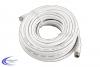 SAT-Kabel 75 Ohm, F-Stecker > F-Stecker, 15m, weiß