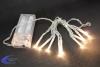 LED-Lichterkette, 10 warmweiße LEDs, batteriebetrieben, 150cm