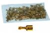 Kabelsteckschuhe RS 6,3-1 blank Beutel mit 100 Stück
