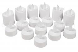 LED-Teelicht, 16er-Pack, flackernd, inkl. Batterien