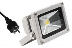 LED-Außenstrahler McShine, 10W, IP44, 900 lm, 4000K, neutralweiß