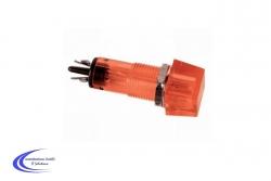 Signalleuchte Neon 12VDC Farbe rot