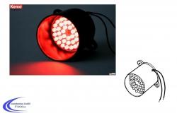 Kemo M136 LED Signalleuchte rot